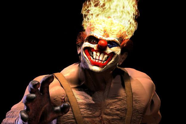 твистер метал клоун